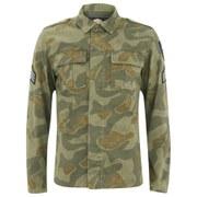 Pretty Green Men's Camo Millennium Jacket - Camo