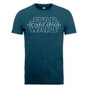 Star Wars Men's The Force Awakens Force Awakens Logo 1 T-Shirt - Midnight