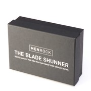 Men Rock Blade Shunner Kit (Beard Balm, Beard Soap, Beard Brush, Gift Box)