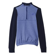 adidas Women's Response Warm Long Sleeve Jersey - Midnight Indigo/Clear Onix