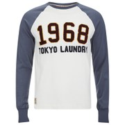 Tokyo Laundry Men's Cold River Raglan Long Sleeve Top - Egg Shell