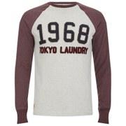 Tokyo Laundry Men's Cold River Raglan Long Sleeve Top - Oatgrey Marl