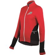 Santini Women's Mearesy Thermofleece Long Sleeve Jersey - Red