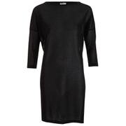 Vero Moda Women's Sianna 3/4 Mini Dress - Black Lurex