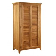 Vancouver Oak VXB004 Two Door Wardrobe