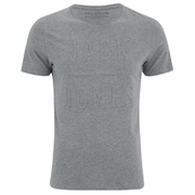 Jack & Jones Men's Gary T-Shirt - Light Grey Melange