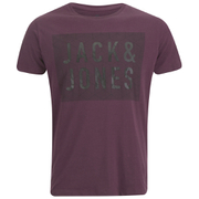 Jack & Jones Men's Rider T-Shirt - Fig