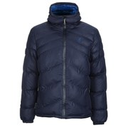 Kangol Men's Osborne Hooded Puffer Jacket - Midnight Navy
