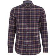 Produkt Men's DEK 84 Flannel Long Sleeved Shirt - Navy Blazer