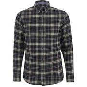 Produkt Men's DEK 84 Flannel Long Sleeved Shirt - Black Navy