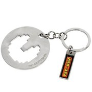 Pac Man Bottle Opener Keyring