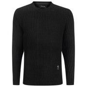 Religion Men's Morgan Long Knitted Jumper - Black