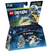 LEGO Dimensions, Ninjago, Zane Fun Pack
