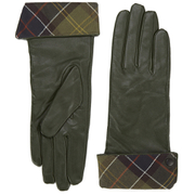 Barbour Women's Lady Jane Leather Gloves - Green