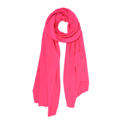 Cocoa Cashmere Women's Scarf - Dayglow Pink