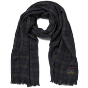 Scotch & Soda Men's Gentleman's Scarf - Brushed Dessin