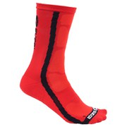 Sugoi RS Crew Cycling Socks - Red