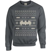 DC Originals Christmas Batman Kids Sweatshirt - Charcoal