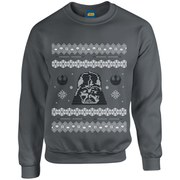 Star Wars Christmas Darth Vader Sweatshirt - Charcoal