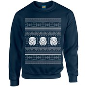 Star Wars Christmas Stormtrooper Sweatshirt - Navy