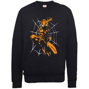 Marvel Ultimate Spider-Man Halloween Shooting Sweatshirt - Black