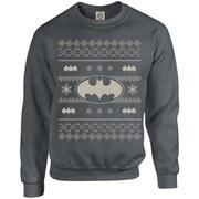 DC Originals Christmas Batman Sweatshirt - Charcoal