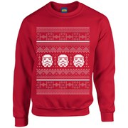 Star Wars Kids' Christmas Stormtrooper Sweatshirt - Red