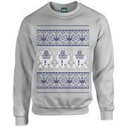 Star Wars Christmas R2-D2 Sweatshirt - Sport Grey