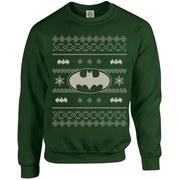 DC Originals Christmas Batman Sweatshirt - Forest Green