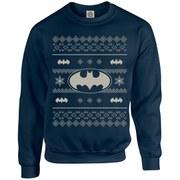DC Originals Christmas Batman Kids Sweatshirt - Navy