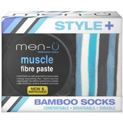 men-ü Style+ Muscle Fibre Paste (Includes Bamboo Socks)