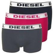Diesel Men's Shawn 3 Pack Boxers - Black/Pink/Charcoal