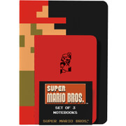 Super Mario Bros. Notebooks (Set of 3)