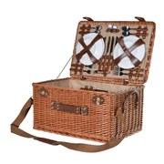 Large Rattan Picnic Basket