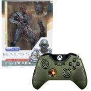 Limited Edition Halo 5: Guardians The Master Chief Wireless Controller + Halo 5 - Spartan Locke 10 Inch