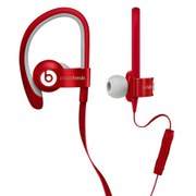 Beats by Dr. Dre: PowerBeats Earphones - Red