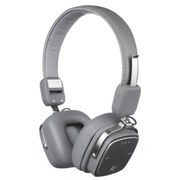 Kitsound Clash Bluetooth Headphones with Mic - Grey