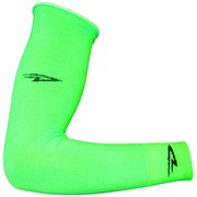 DeFeet Armskin D Logo Arm Warmers - Neon Green