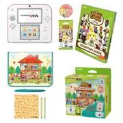 Nintendo 2DS + Animal Crossing: Happy Home Designer + NFC Reader/Writer Pack