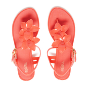 Melissa Women's Solar Hawai Sandals - Coral Pop