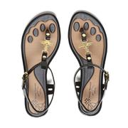 Vivienne Westwood for Melissa Women's Solar Sandals - Black Orb
