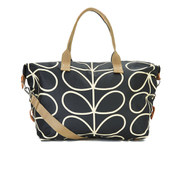 Orla Kiely Women's Stem Zip Holdall Bag - Black