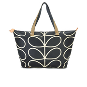 Orla Kiely Women's Stem Zip Shopper Bag - Black