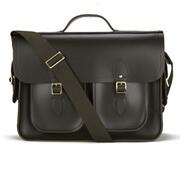 The Cambridge Satchel Company Men's Multi Pocket Batchel - Dark Brown