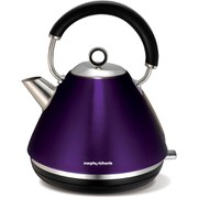 Morphy Richards 102020 Accents Pyramid Kettle - Plum - 1.5L