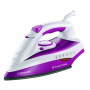 Russell Hobbs 19220 Steamglide Professional Iron - White/Pink