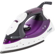 Morphy Richards 40698 Turbosteam Iron - Black/Plum