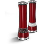 Morphy Richards Electronic Salt and Pepper Mill - Red