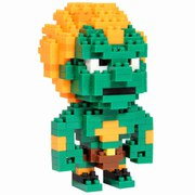Streetfighter Pixel Bricks - Blanka