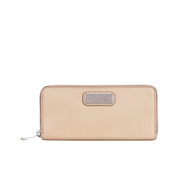 Marc by Marc Jacobs Women's New Q Slim Zip Around Purse - Nude